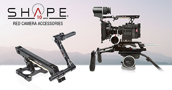 SHAPE RED Camera Accessories WEAPON RAVEN EPIC-W SCARLET-W