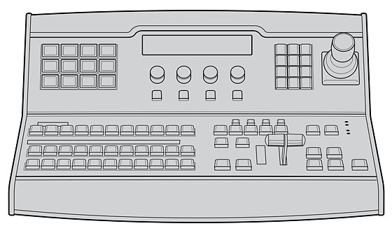 Blackmagic Desigm ATEM 1 M/E Broadcast Panel