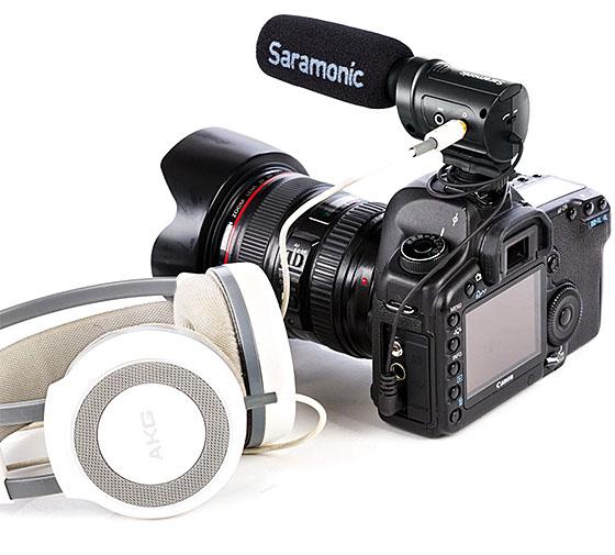 Saramonic SR-M3 Mini Directional Condenser Microphone mikrofon puška