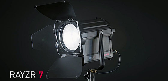 Rayzr 7 200 LED Fresnel Light