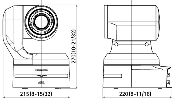 Panasonic AW-UE150 4K Integrated Camera