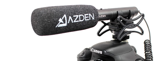 Azden SMH-X Universal Microphone Shock Mount (18-22mm)