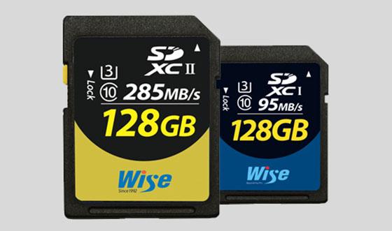 Wise SDXC UHS-II V90