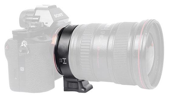 EF-E II (Sony E – Canon EF Speed Booster 0.71x)