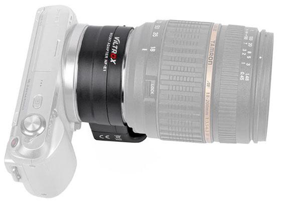 NF-E1 (Sony E – Nikon F AF)