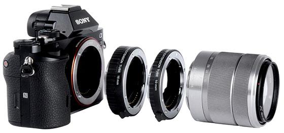 NF-NEX (Sony E – Nikon F/D/G)