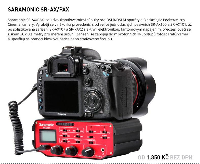 Saramonic SR-AX SR-PAX