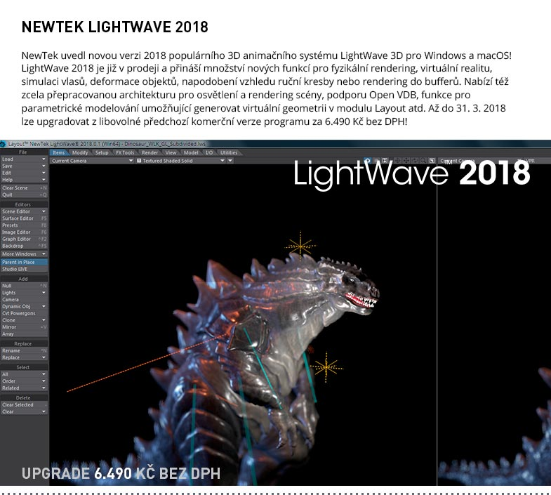 NewTek LightWave 3D 2018