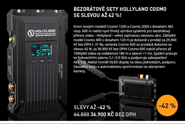 BEZDRATOVE SETY HOLLYLAND COSMO SE SLEVOU AZ 42 %!