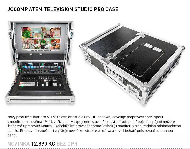 JOCOMP ATEM TELEVISION STUDIO PRO CASE