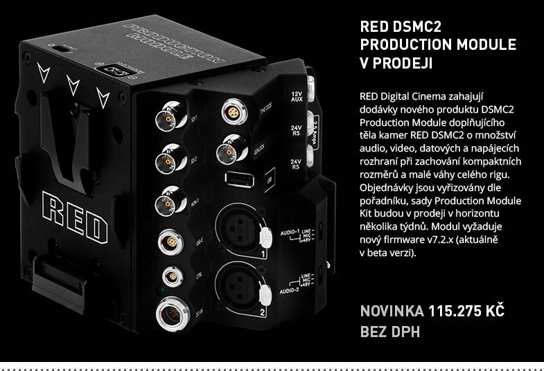 RED DSMC2 PRODUCTION MODULE V PRODEJI