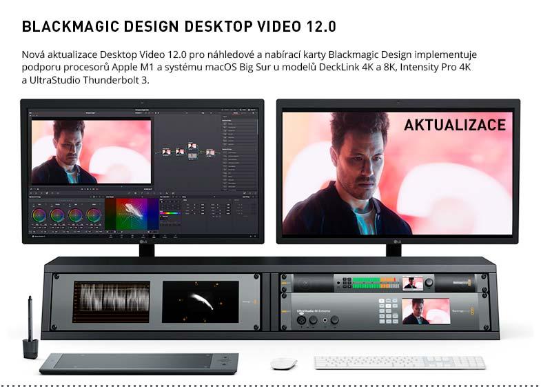BLACKMAGIC DESIGN DESKTOP VIDEO 12