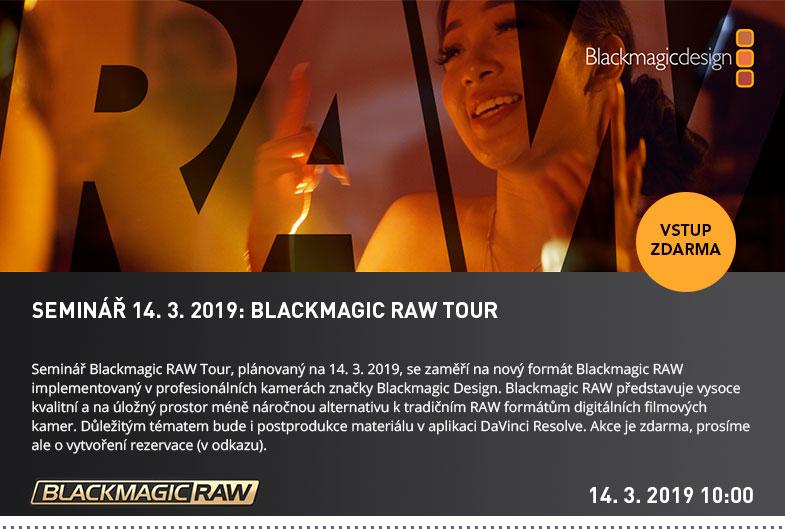 BLACKMAGIC RAW TOUR