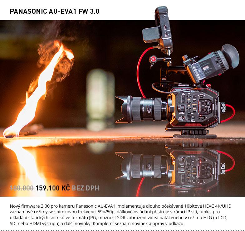 PANASONIC AU-EVA1 FW 3.0