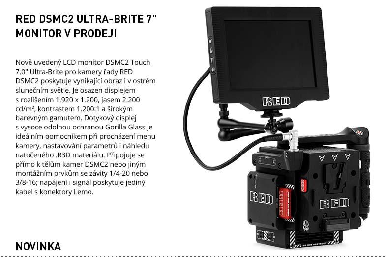 RED DSMC2 ULTRA BRITE 7 MONITOR