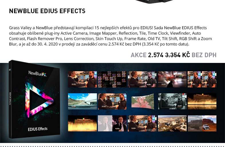 NEWBLUE EDIUS EFFECTS