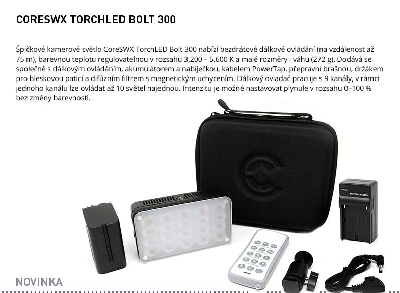CORESWX TORCHLED BOLT 300