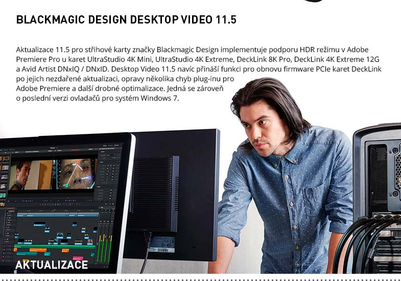 BLACKMAGIC DESIGN DESKTOP VIDEO 11.5