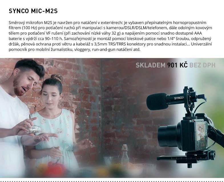 SYNCO MIC-M2S