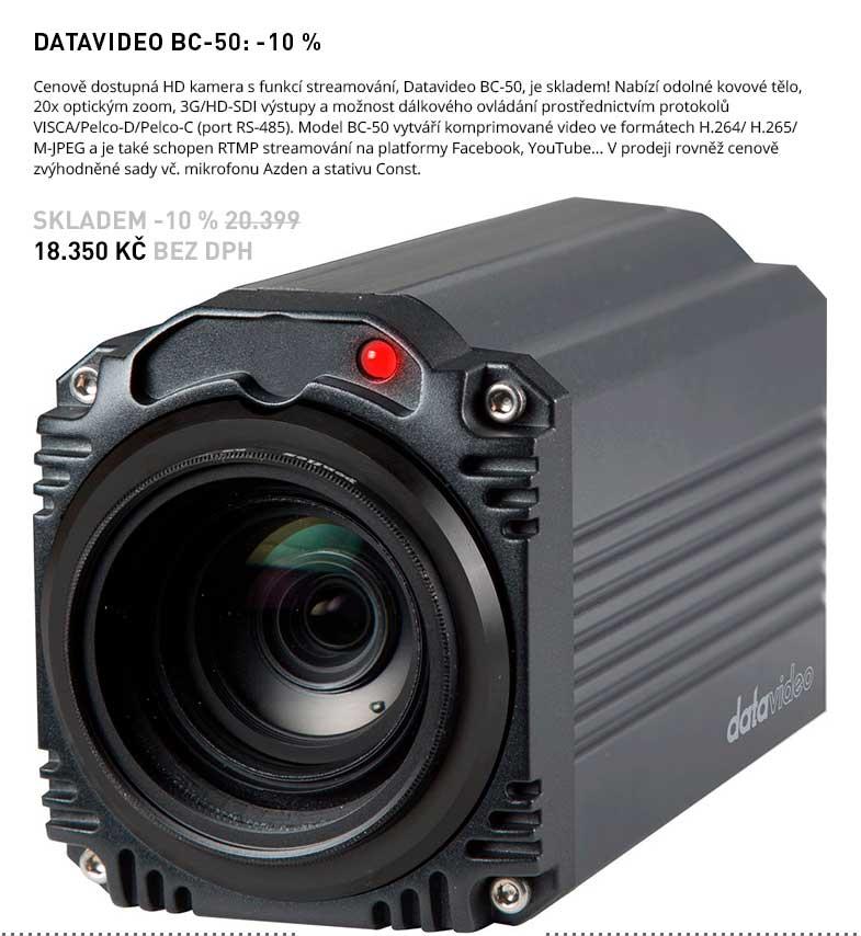 DATAVIDEO BC-50 -10 PC