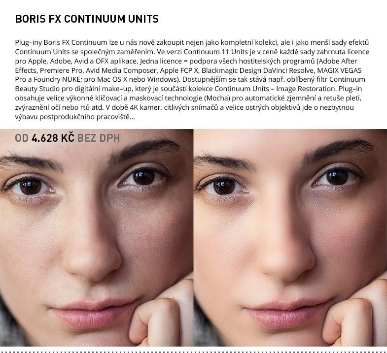 BORIS FX CONTINUUM UNITS