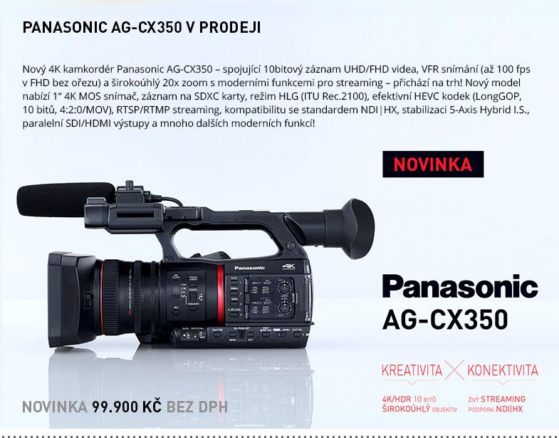 PANASONIC AG-CX350 V PRODEJI