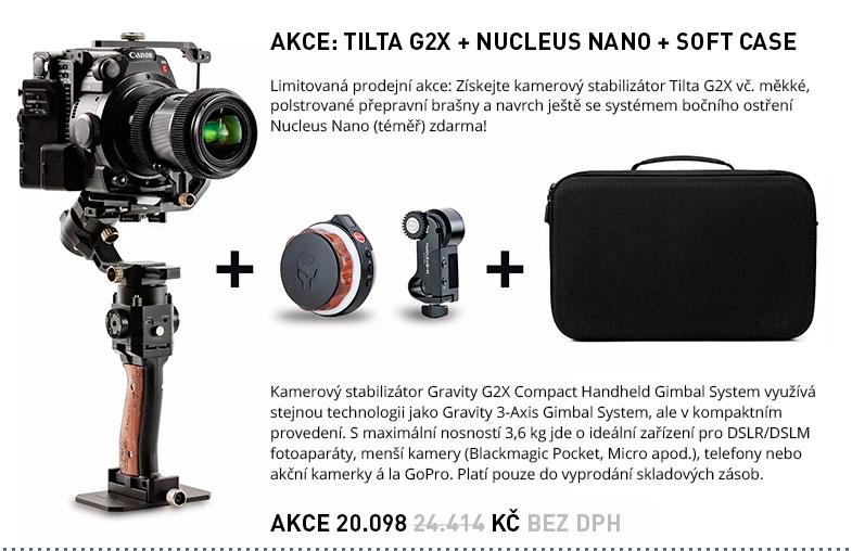 AKCE: TILTA G2X + NUCLEUS NANO + SOFT CASE