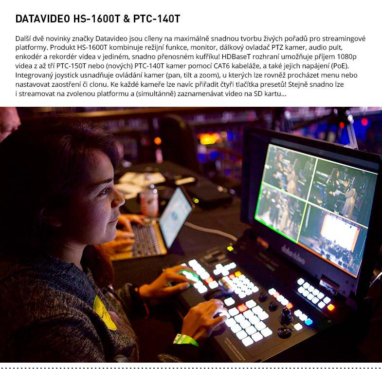 DATAVIDEO PTC-140T & HS-1600T