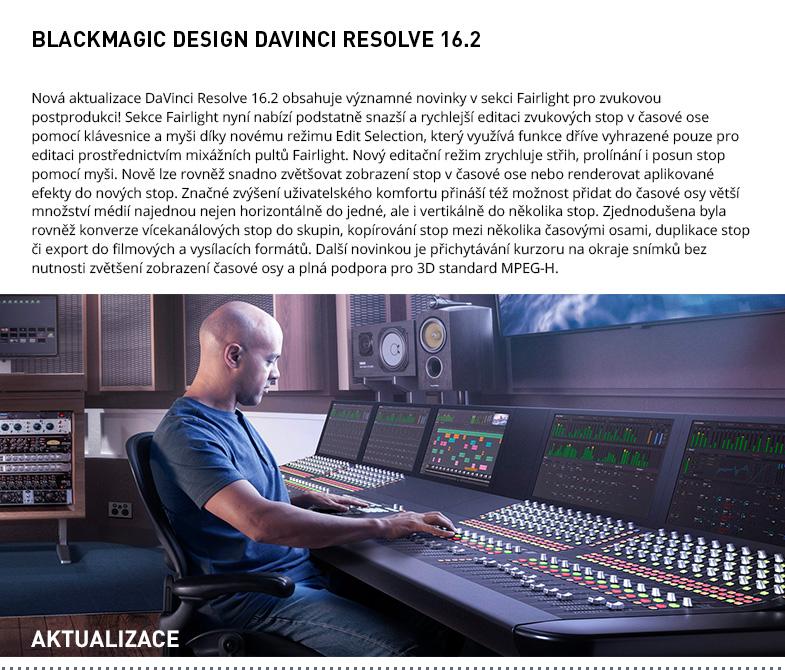BLACKMAGIC DESIGN DAVINCI RESOLVE 16.2