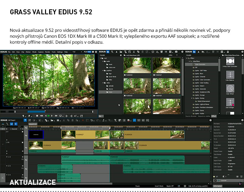 GRASS VALLEY EDIUS 9.52