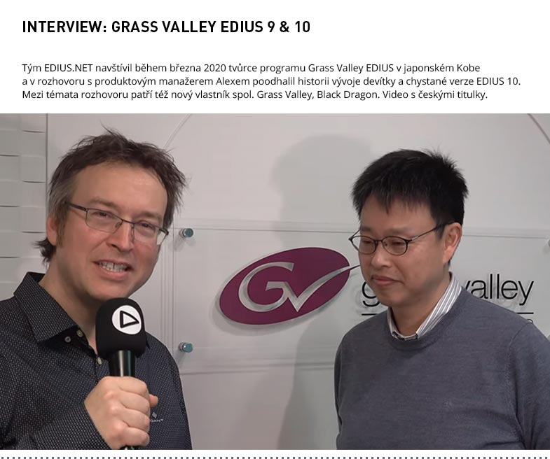INTERVIEW GRASS VALLEY EDIUS 9 A 10
