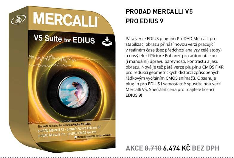 PRODAD MERCALLI V5 PRO EDIUS 9