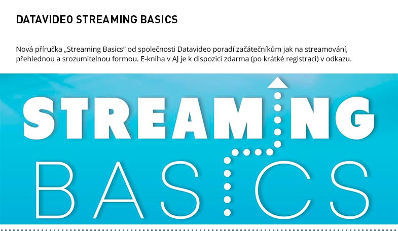 DATAVIDEO STREAMING BASICS