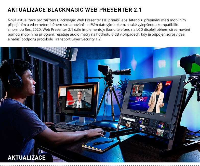 BLACKMAGIC WEB PRESENTER 2.1