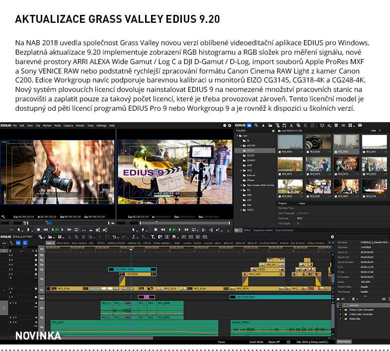 GRASS VALLEY EDIUS 9.20