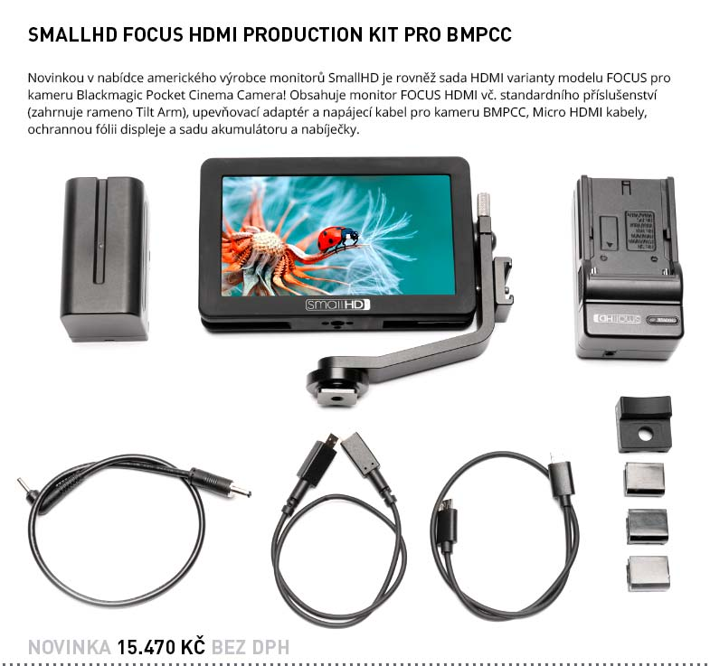 SMALLHD FOCUS HDMI PRODUCTION KIT PRO BMPCC