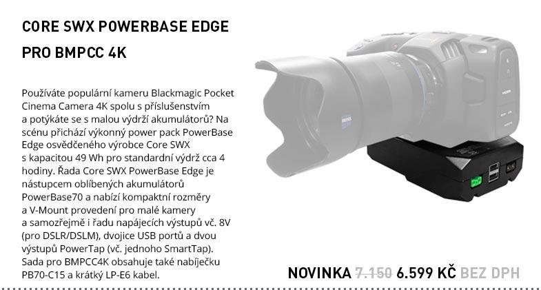 CORE SWX POWERBASE EDGE PRO BMPCC 4K