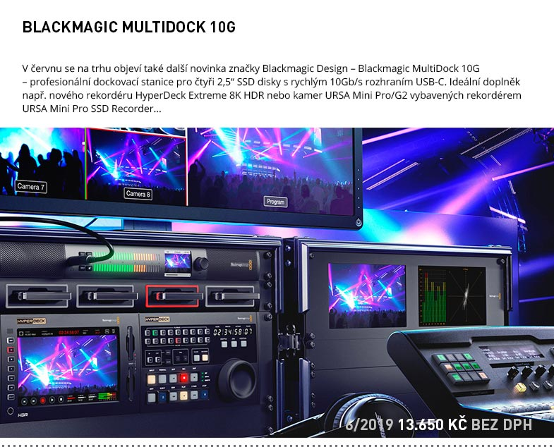 BLACKMAGIC MULTIDOCK 10G