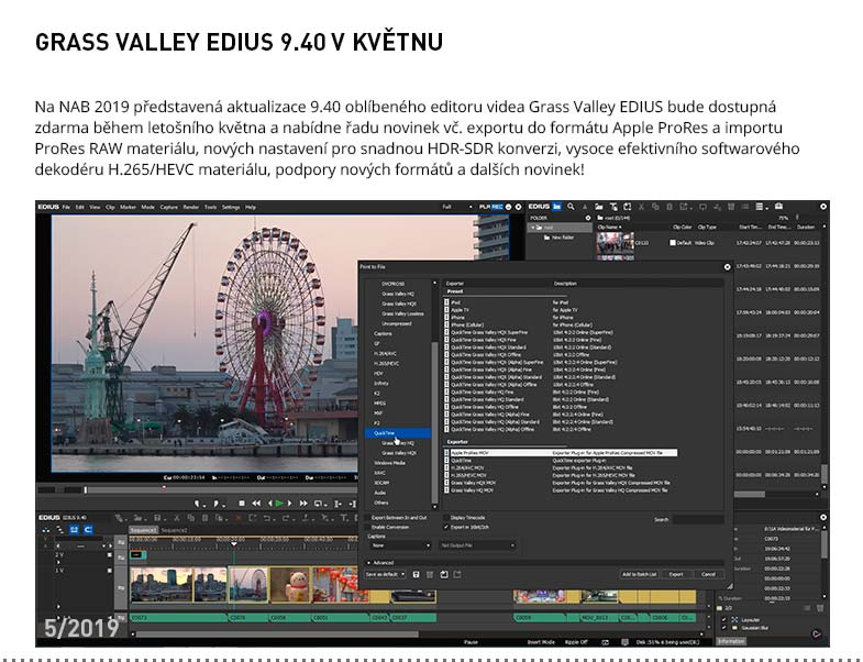 GRASS VALLEY EDIUS 9.40