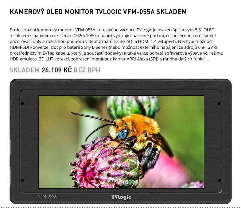 OLED MONITOR TVLOGIC VFM-055A