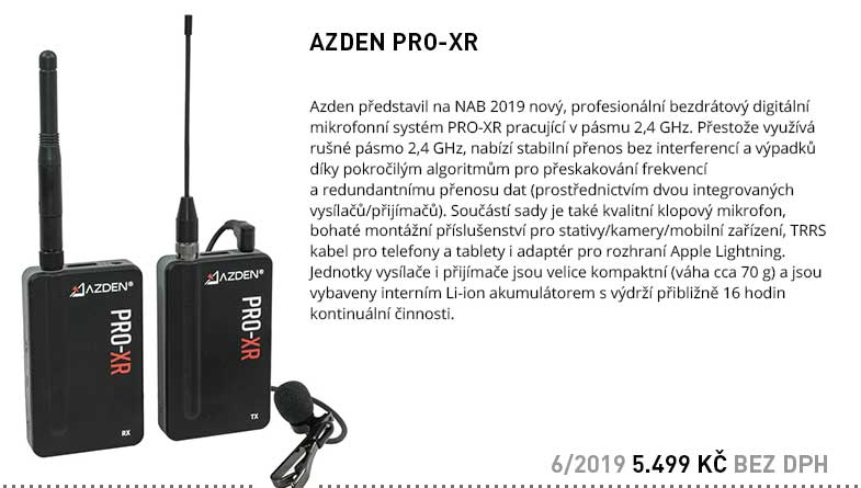 AZDEN PRO-XR