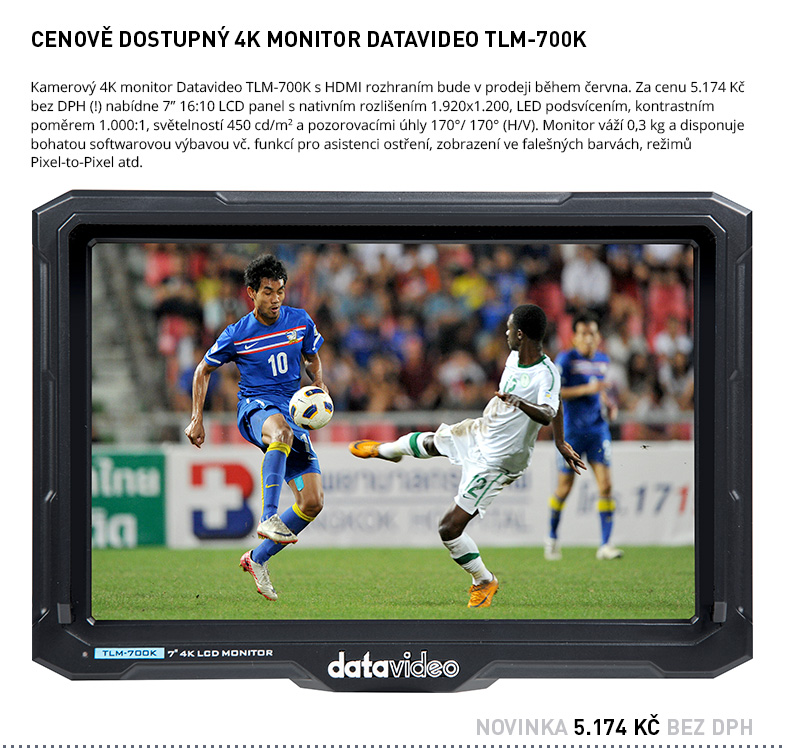 DATAVIDEO TLM-700K