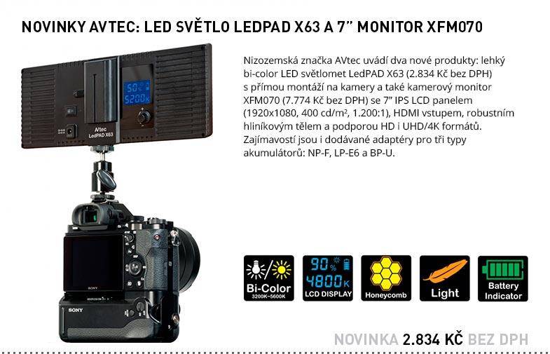 AVTEC LEDPAD X63 / XFM070