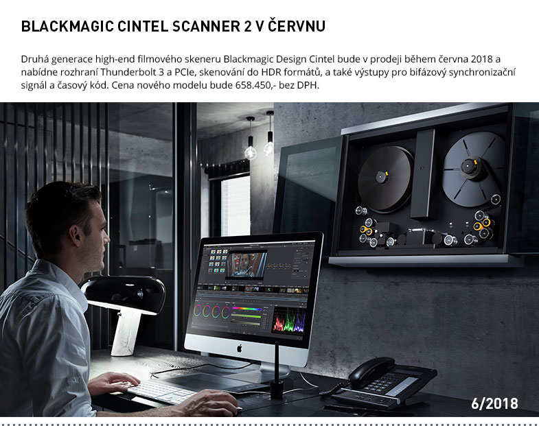 BLACKMAGIC CINTEL SCANNER 2