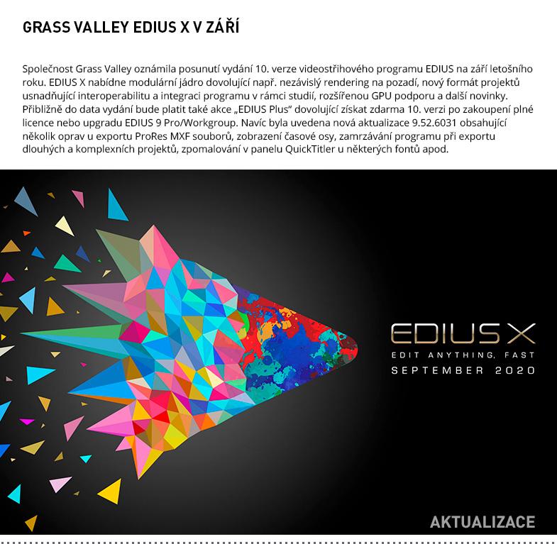 GRASS VALLEY EDIUS X