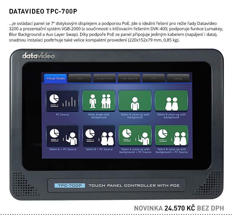 DATAVIDEO TPC-700P