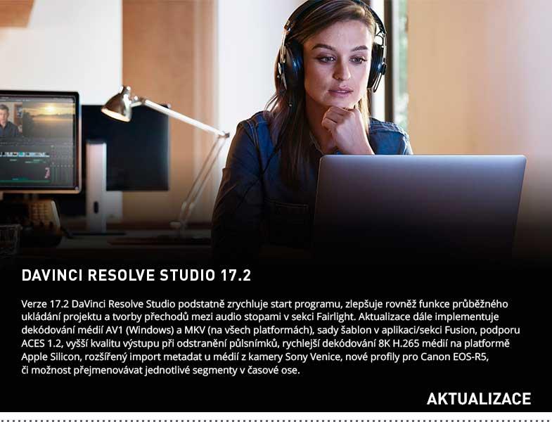 DAVINCI RESOLVE STUDIO 17.2