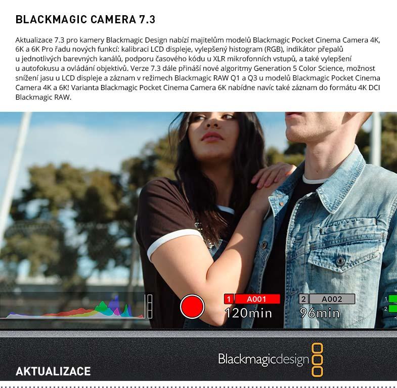 BLACKMAGIC CAMERA 7.3
