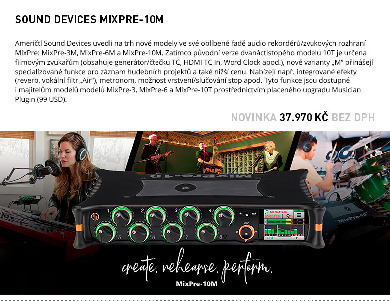 SOUND DEVICE MIXPRE M SERIES