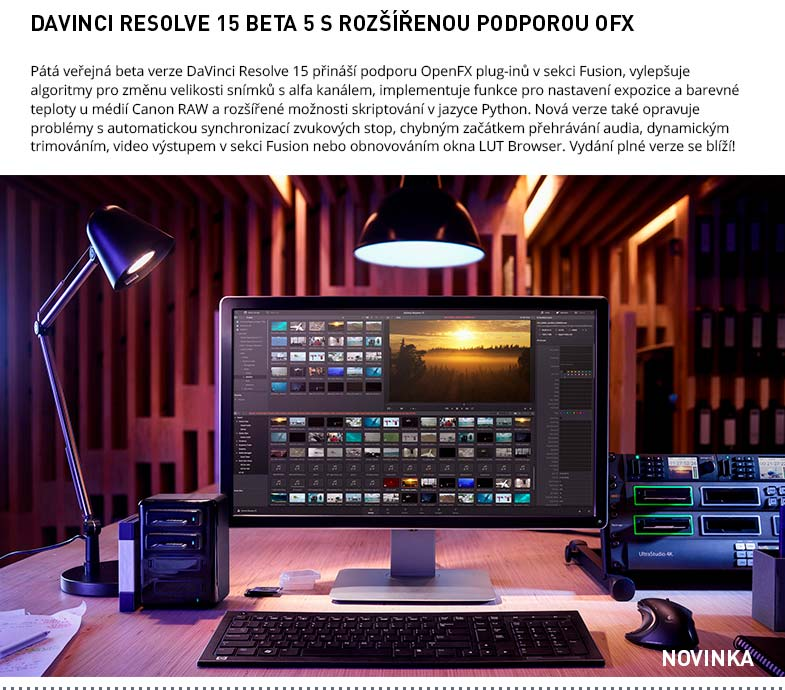 DAVINCI RESOLVE 15 BETA 5